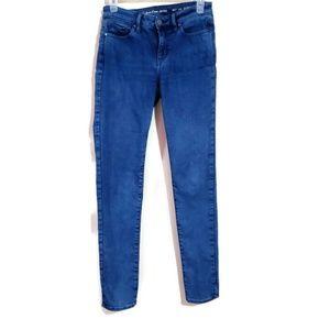 Calvin Klein skinny jeans sz 4 blue pants